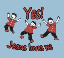 Yes Jesus Loves Me Kids Tee