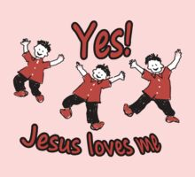 Yes Jesus Loves Me Kids Tee