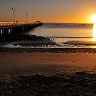 Shorncliffe Jetty. Brisbane, Queensland, Australia.  by Ralph de Zilva