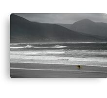 Irish Surfer Canvas Print