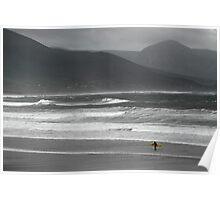 Irish Surfer Poster