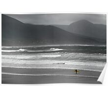 Irish Surfer Poster