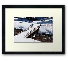 Crystal Creek Crossing Framed Print