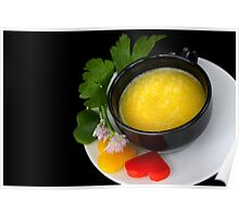 Yellow Pepper 4 Light Food Pleasure Poster