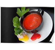 Red Pepper 4 Light Food Pleasure Poster