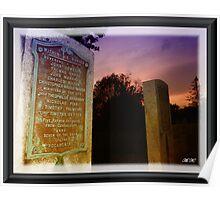 Newburyport cemetery  Poster