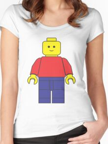Original Lego Mini Figure Women's Fitted Scoop T-Shirt