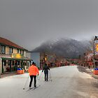 Skiing in Canmore by zumi