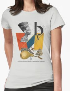 The International Artifact Restoration Institute. Womens Fitted T-Shirt