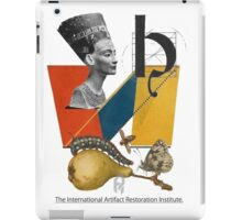 The International Artifact Restoration Institute. iPad Case/Skin