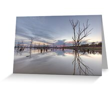 Lake Mokoan • Victoria • Australia Greeting Card