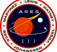 """Martian"" Ares III Patch by quarksbar"
