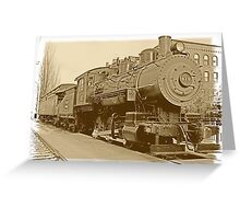 Boston and Maine express 410 Greeting Card