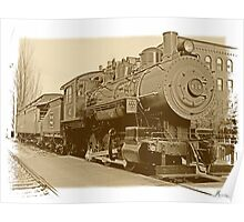 Boston and Maine express 410 Poster