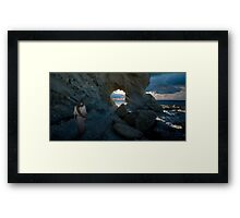 Jesus - Peace I leave with you Framed Print