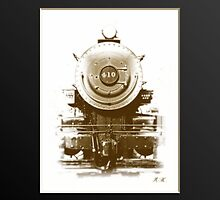 Boston and Maine 410 steam engine front  by DrewK