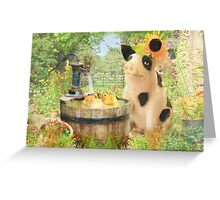 Prudence and the Dilly Ducks Greeting Card