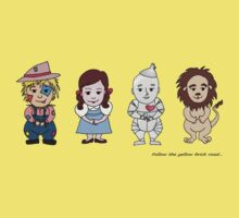 Wizard of Oz Friends by Jellyscuds