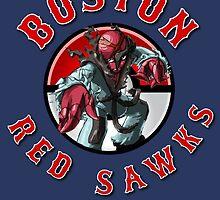 GBA Red Sawks by Superblah411