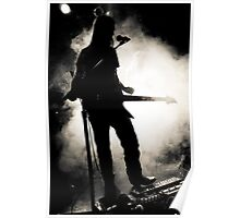 Guitar Fog Poster