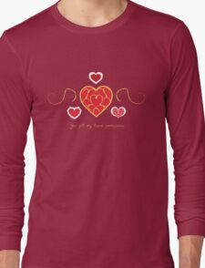 You fill my heart containers. Long Sleeve T-Shirt