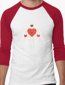 You fill my heart containers. Men's Baseball ¾ T-Shirt