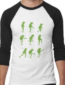 Ministry of Silly Muppet Walks Men's Baseball ¾ T-Shirt