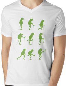 Ministry of Silly Muppet Walks Mens V-Neck T-Shirt