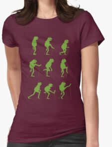 Ministry of Silly Muppet Walks Womens Fitted T-Shirt