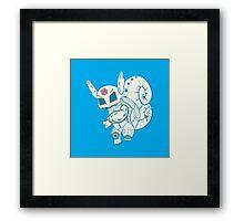 Wartortle Pokemuerto Framed Print