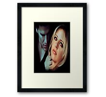 Buffy the Vampire Slayer - Bangel Framed Print