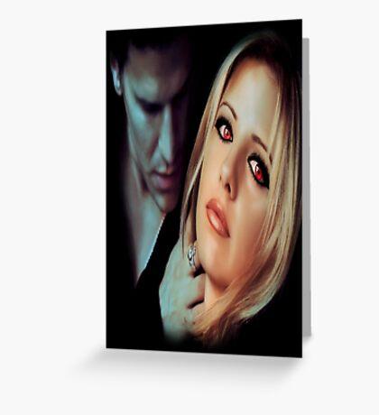 Buffy the Vampire Slayer - Bangel Greeting Card