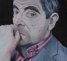 Rowan Atkinson by Amba