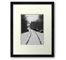 Life's not pretty even though..I've tried so hard to make it so..Now I'm snowblind Framed Print