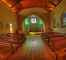 A Quiet Place - The Chapel, Daylesford Convent, Daylesford, Victoria Australia - The HDR Experience by Philip Johnson