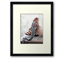 Tasmanian Mermaid Framed Print