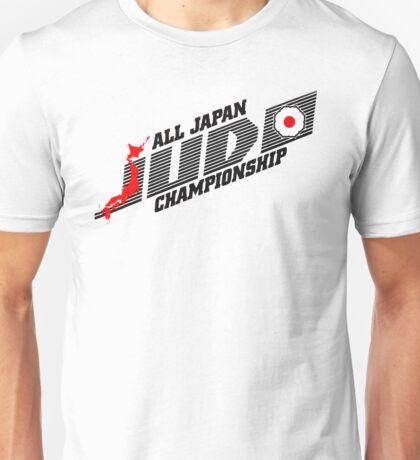 Japan Judo Championship Unisex T-Shirt