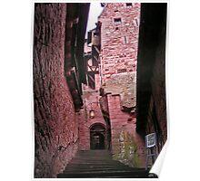 Alsace castle Poster
