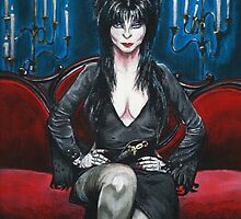 Elvira Portrait by Brittney Lawrence