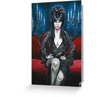 Elvira Portrait Greeting Card