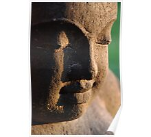 Buddha's face Poster