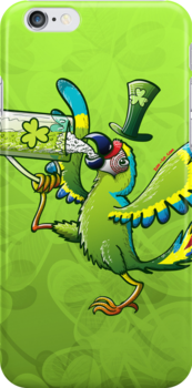 Saint Patrick's Day Macaw by Zoo-co