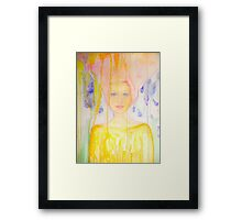 The heart of a woman Framed Print