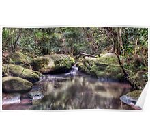 Lovers Leap Creek Poster