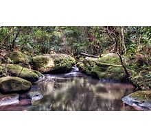 Lovers Leap Creek Photographic Print