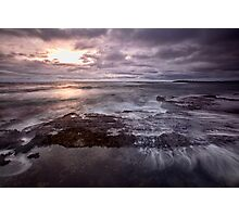 Barely A Sunrise - Blackwoods Beach, NSW Photographic Print