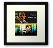 Doctor who 10th doctor last words to Rose  Framed Print