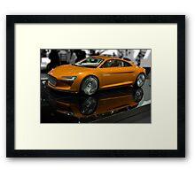 Audi e-tron Framed Print