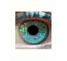 The eye of the beautiful beholder Art Print