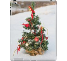 Snow Covered Christmas Tree iPad Case/Skin